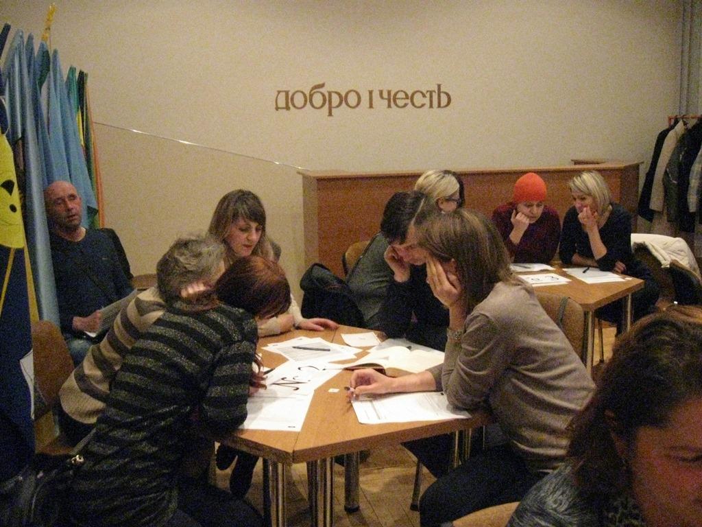 Засідання Відкритих родинних студій у 1Б класі