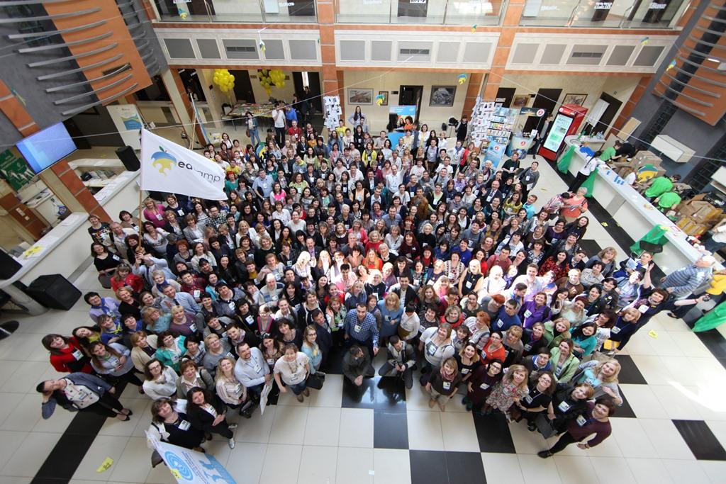 «Ми будуємо спільноту відповідального вчительства!» EDCAMP 2016