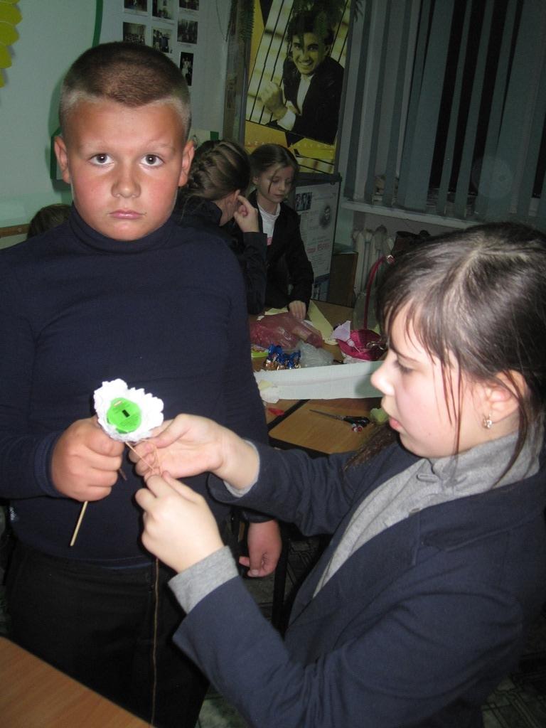 Мастер клас Федорчак Оксани Степанівної
