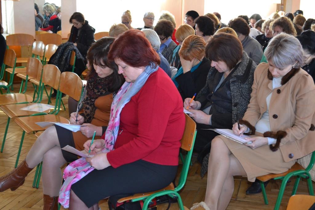 Міський семінар вчителів української та світової літератури