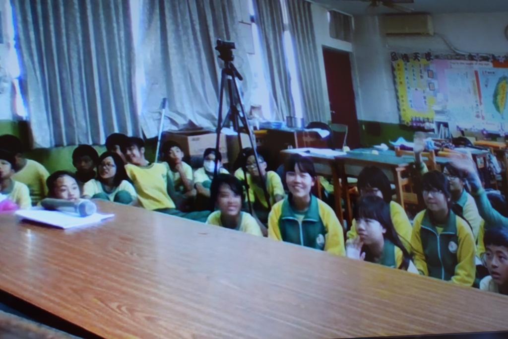 Віртуальне спілкування з учнями з Тайваню