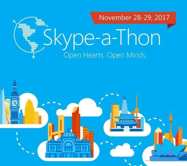 Skype-a-thon 2017
