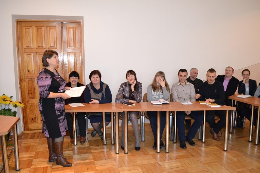 Засідання товариства творчих ліцеїстів