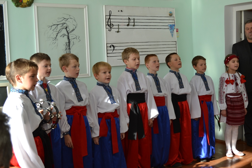 Зустріч педагогів. Березнівська ЗОШ№2 Рівненської області