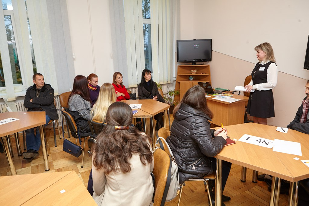 Засідання Відкритих родинних студій у 1Г класі