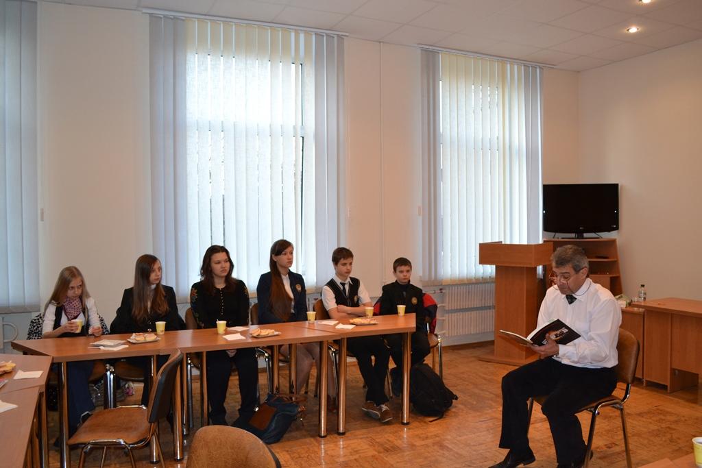 Бізнес-обід учнівського самоврядування