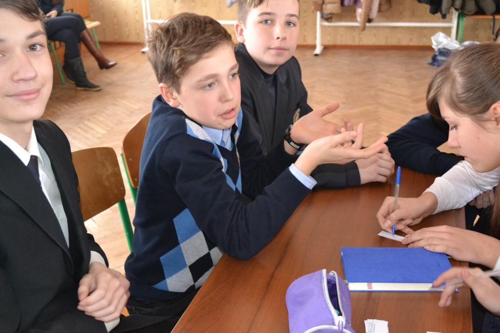 «Брейн-ринг» між учнями 7-8-х класів