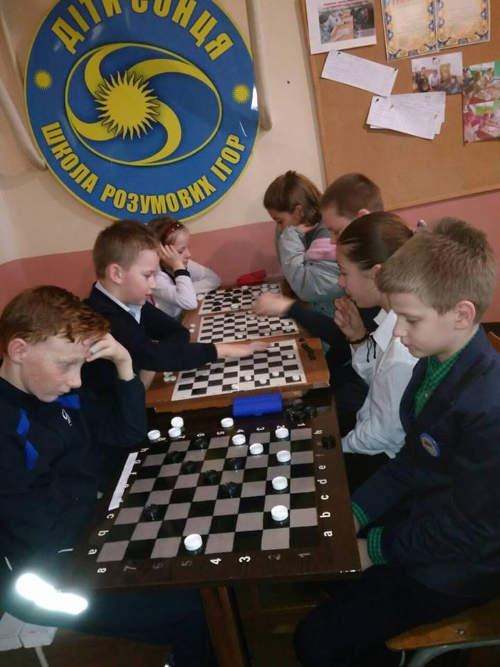 Фінал з гри «Шашки»