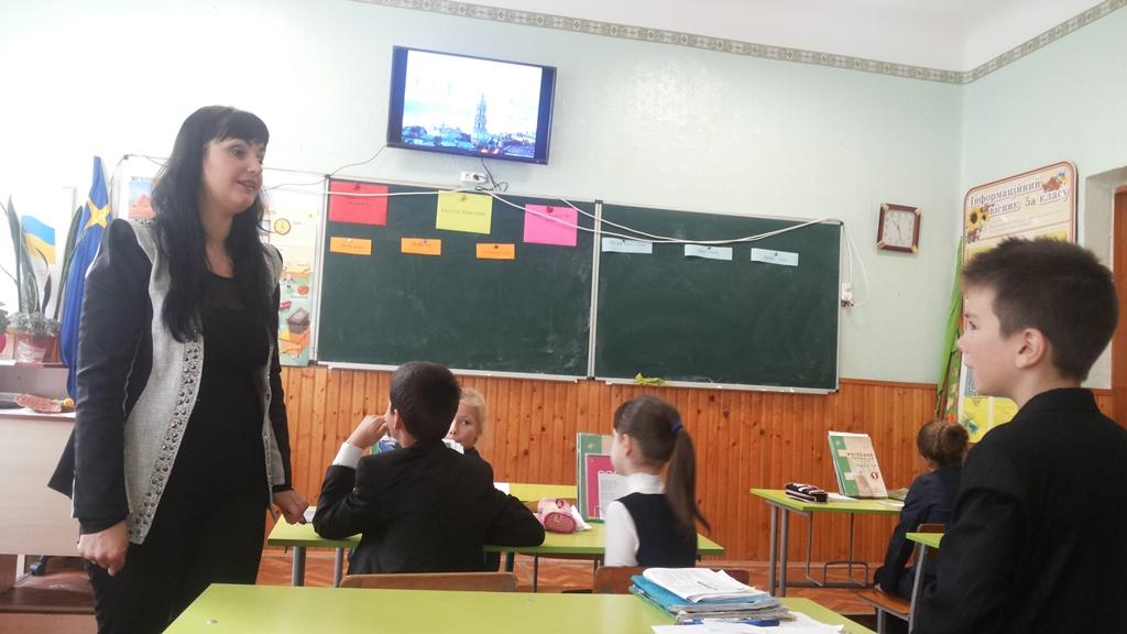 Комплексно-хвильові уроки в школі-ліцеї