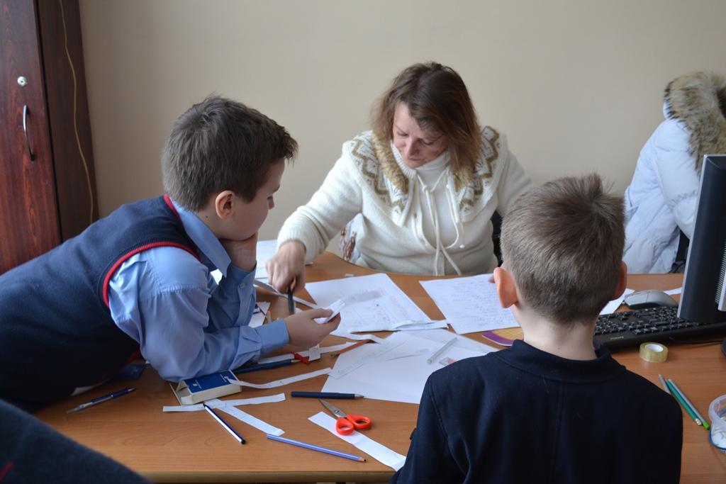 Квартер 1-х класів. Учні та батьки