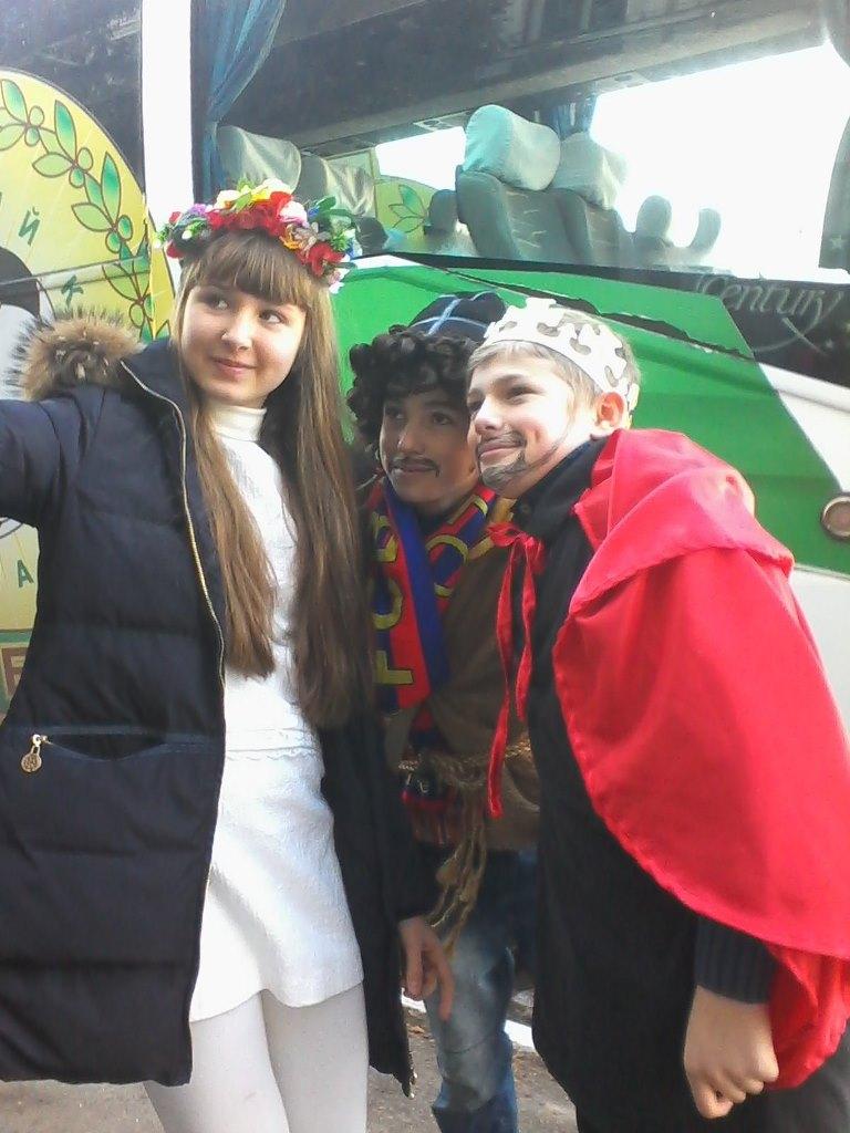 Подивуймося разом з Ангелом україни,мошком та іродом