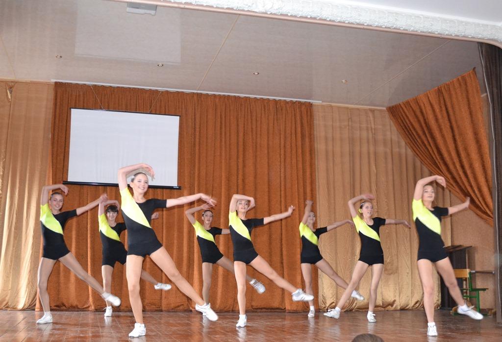 Шкільний фестиваль із спортивної аеробікиШкільний фестиваль із спортивної аеробіки