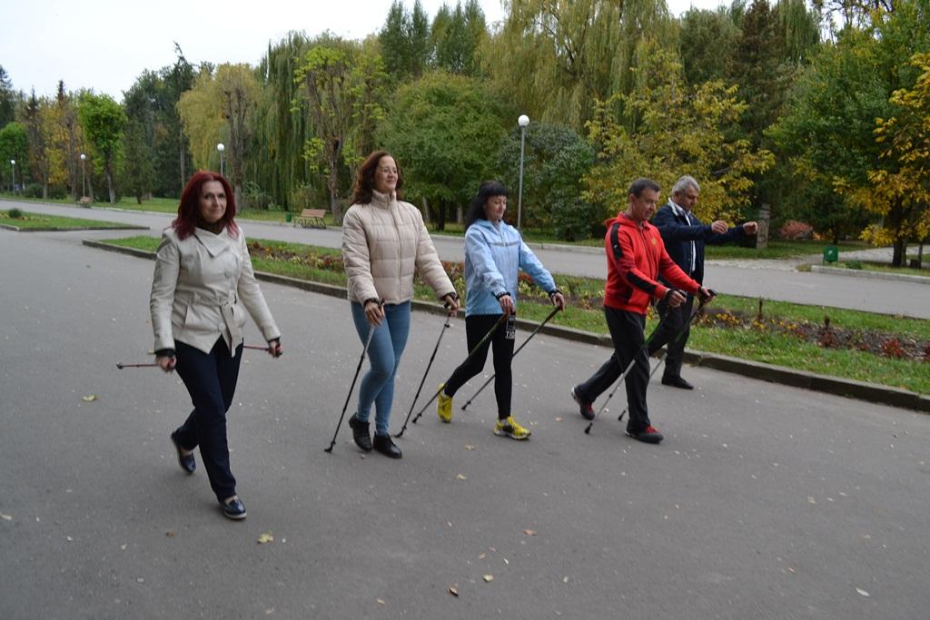 Скандинавська ходьба як ефективний засіб оздоровлення організму