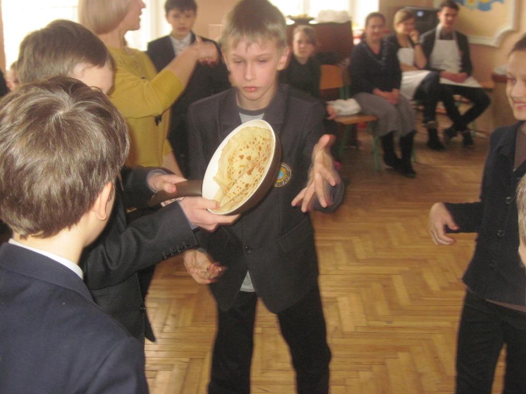 Свято млинців (Pancake Day).