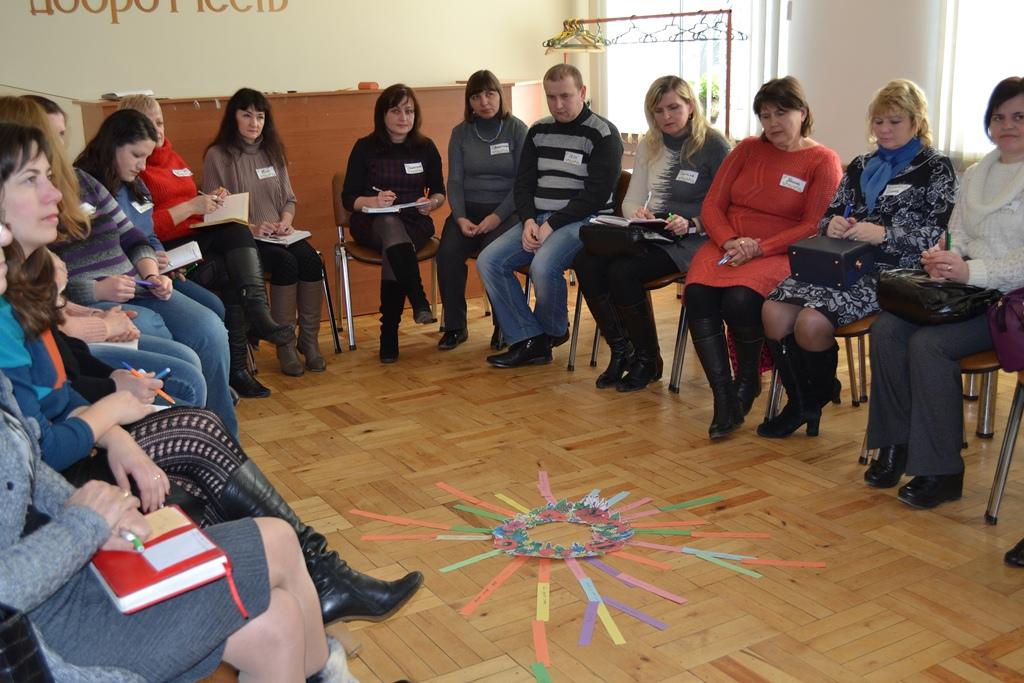 """Тренінг """"Національно-патріотичне виховання школярів – основа формування майбутнього громадянина"""""""