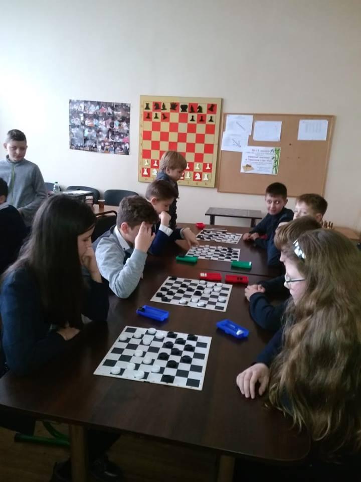 Турнір з гри «Шашки» між учнями 5 - 6 класів