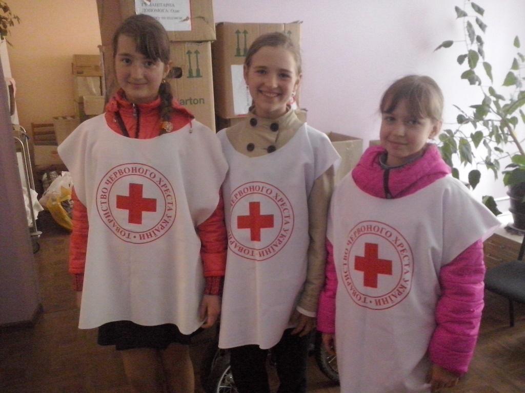 Участь у місячнику Червоного Хреста