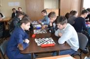 Відбірковий турнір з шашок (9-11-ті кл.)