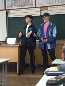 """Костюмований урок з предмету """"Людина і світ"""" у 11ЛП класі (вчитель Матвіїв І.Й.)"""