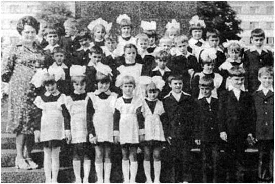 Білоус Л.Г. зі своїми вихованцями.