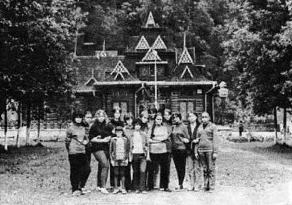 Наші учні у Карпатах. 1972 р.
