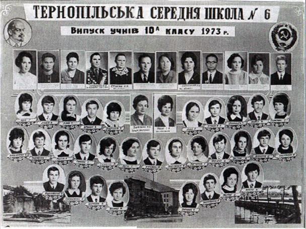 Випуск учнів 1976р.