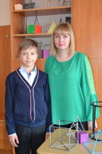 Стадник Ілля – 7-Б (III місце з математики) Вчитель Гандзола Мар'яна Ярославівна
