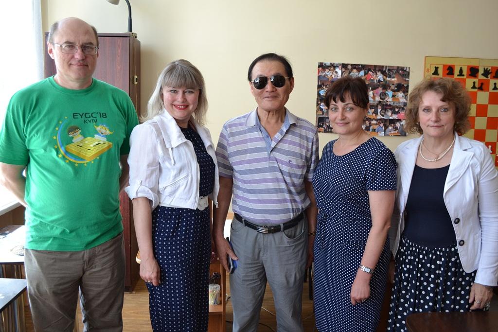 Зустріч з містером Чун Пунг Чжо
